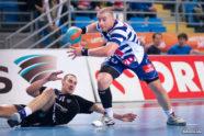 Fotorelacja z pierwszego spotkania ćwierćfinałowego przeciwko Pogoni Szczecin, wygranego przez Nafciarzy 32-28 (17-15) autorstwa Skibka (skibek.pl).