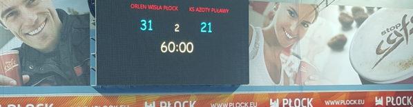 W meczu na szczycie grupy pomarańczowej PGNiG Superligi Wisła wysoko pokonała Azoty Puławy 31 do 21. Najlepszym strzelcem w naszych szeregach był Dan Racotea z 5 trafieniami. Nafciarze rozpoczęli spotkanie […]