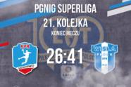 W rozegranym dziś meczu ligowym Nafciarze wysoko pokonali KPR Legionowo 41 do 26. Najwięcej bramek dla nas rzucił Valentin Ghionea, autor 7 trafień.  Pierwsza połowa dość niemrawa w naszym […]