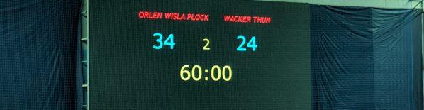 Wygrywamy 34 do 24 w pierwszym meczu ligi mistrzów sezonu 18/19. Wkrótce więcej…